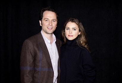 Actors Keri Russell and Matthew Rhys