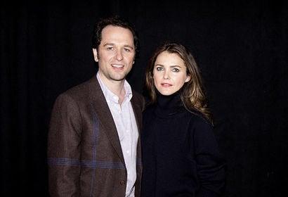 Actors Keri Russell and Matthew Rhys