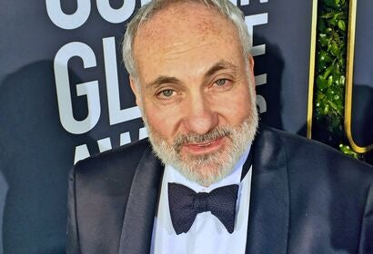 Actor Kim Bodnia at the 2019 Golden Globes