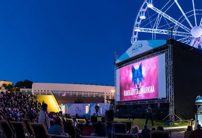 General view of screenings at the Helsinki Film Festival 2017