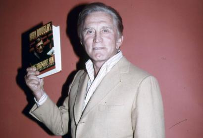 KIrk Douglas in 1988