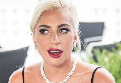 Actress and musician Lady Gaga, Golden Globe winner