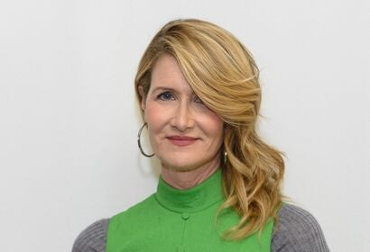 Actress Laura Dern, Golden Globe winner