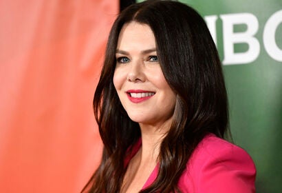Actress Lauren Graham, Golden Globe nominee