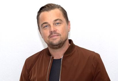 Actor and producer Leonardo DiCaprio, Golden Globe winner