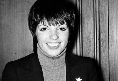 Actrsss and singer Liza Minnelli, Golden Globe winner