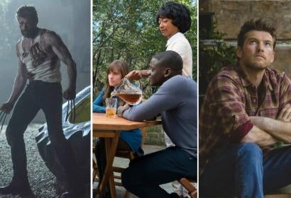 Scenes from Logan, Get Out and The Shack