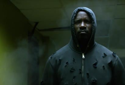 Actor Mike Colter, in new Netflix series Luke Cage