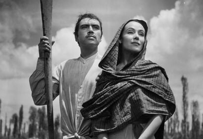 "A scene from ""Maria Candelaria"", 1943"