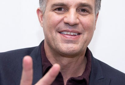 Actor Mark Ruffalo, Golden Globe nominee