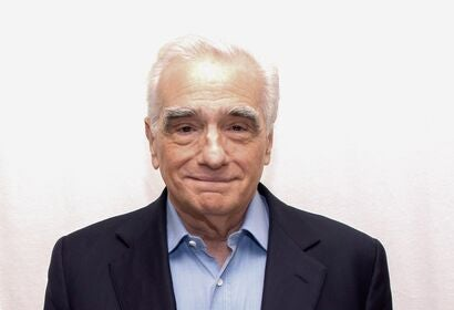 Director, producer Martin Scorsese, Golden Globe winner