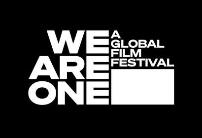 Logo for We Are One Festival, 2020