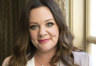 Actress Melissa McCarthy. Golden Globe nominee