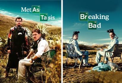 Metástasis and Breaking Bad posters