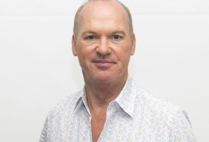 Actor Michael Keaton. Golden Globe winner