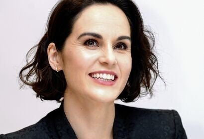 Actress Michelle Dockery, Golden Globe nominee