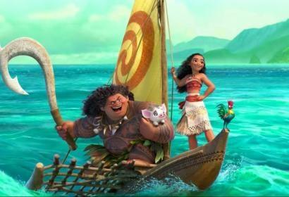 "A scene from ""Moana"", Walt Disney Animation"