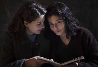 "Margherita Mazzucco and Gaia Girace in ""My Brilliant Friend"""
