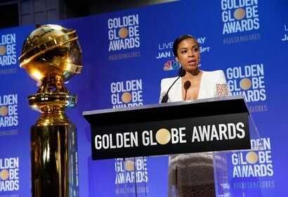 Susan Kelechi Watson announces the nominations for the 77th Golden Globes