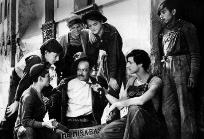 """A scene from """"Los Olvidados"""", 1950"""