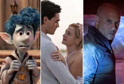 "Tom Holland in ""Onward""   Britt Robertson and K.J. Apa in ""I Still Believe""   Vin Diesel in ""Bloodshot"""