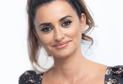 Actress Penelope Cruz, Golden Globe nominee