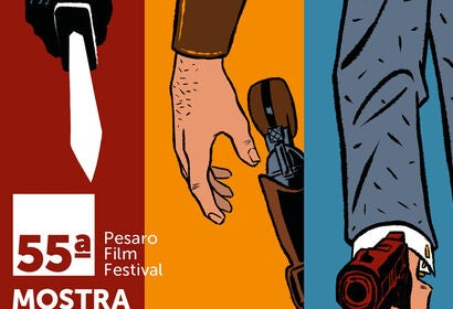 Poster of the Pesaro film festival