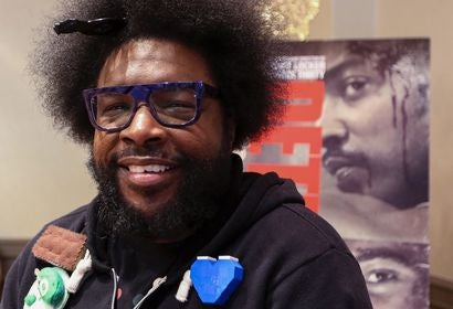 Drummer, composer , producer and DJ Questlove