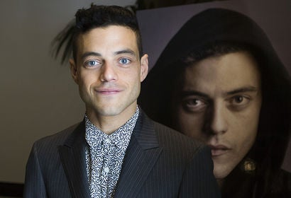 Actor Rami Malek, Golden Globe nominee