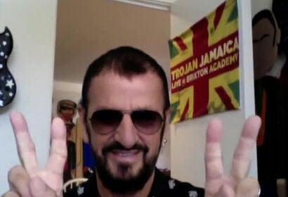 Musician Ringo Starr, 2020
