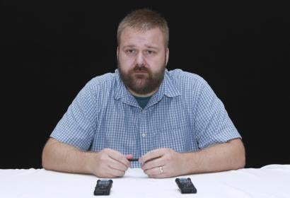 Robert Kirkman at HFPA press conference, Comic-Con 2016