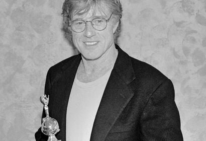 Robert Redford, Godlen Globe winner and Cecil B. deMille Recipient