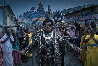 """Rajinikanth in """"Robot"""" (2010)"""