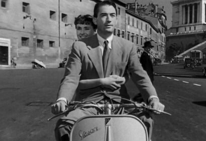 "A scene from ""Roman Holiday"", 1953"
