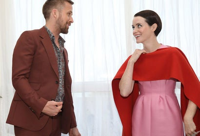 Ryan Gosling and Claire Foy, Venice 2018