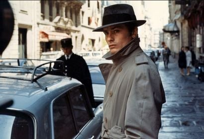 "A scene from the film ""Le Samourai"", 1967"