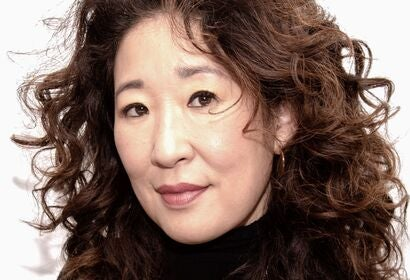 Actress Sandra Oh, Golden Globe winner
