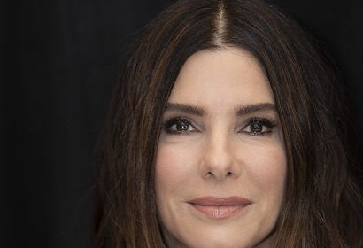 Actress Sandra Bullock, Golden Globe winner