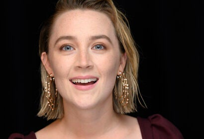 Actress Saoirse Ronan, Golden Globe winner