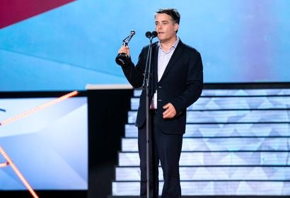 Director Sebastian Lelio at the Premios Platino 2018