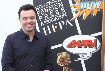 Actor and producer Seth McFarlane at Comic-Con 2018
