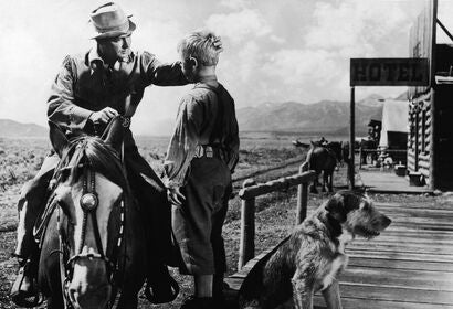 "A scene from ""Shane"", 1953"
