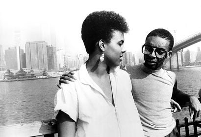 "Tracy Camilla Johns and Spike Lee in a scene from ""She's Gotta Have It"", 1986"