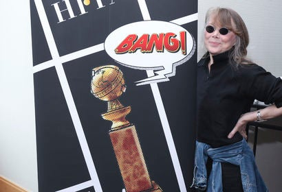 Actress Sissy Spacek. Golden Globe winner, at Comic-Con 2018
