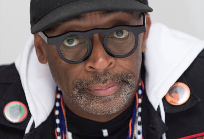 Filmmaker Spike Lee, Golden Globe nominee