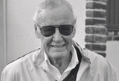 Stan Lee, writer and comuic book genius