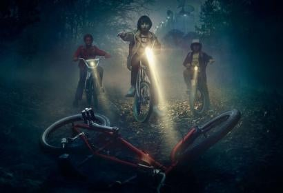 "A scene from the series ""Stranger Things"""