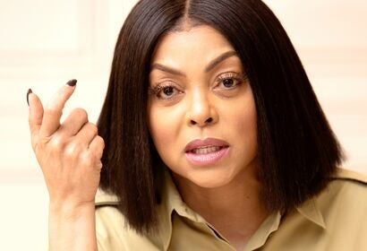 Actress and producer Taraji P. Henson, 2019, Golden Globe winner