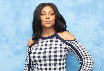 Actress Taraji P. Henson, Golden Globe winner
