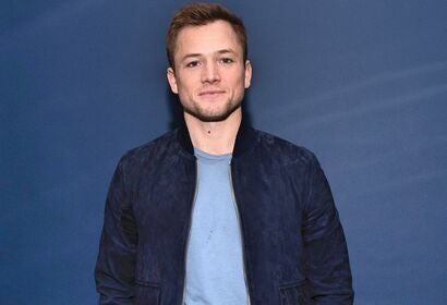 Actor Taron Egerton, Golden Globe nominee